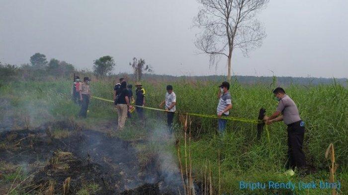 Polisi Tangkap Petani Ini, Karena Bakar Lahan untuk Bercocok Tanam