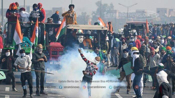 FOTO -  Ribuan Petani India Gelar Demonstrasi Pada Peringatan Hari Republik - petani-india-2.jpg