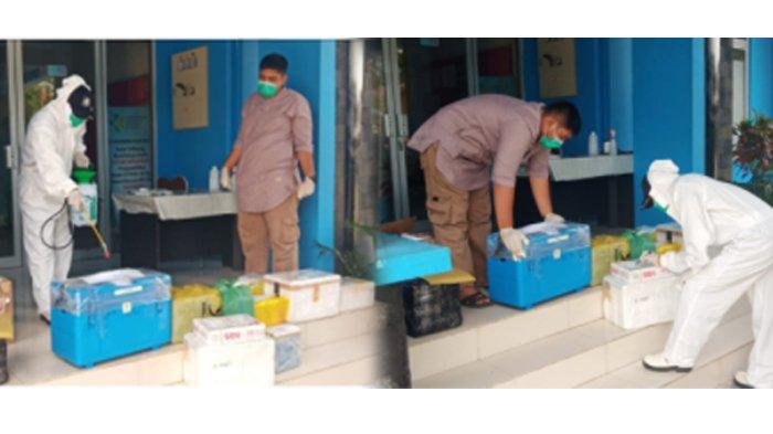 Lab Balitbangkes Aceh Kembali Aktif Periksa Swab, Sudah Ratusan Sampel Diterima