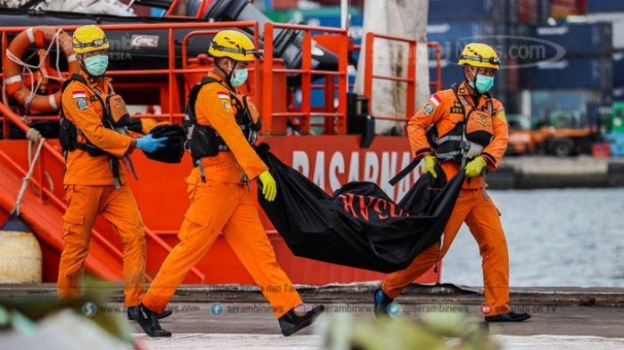 Tim DVI Telah Terima Sampel DNA 62 Keluarga Korban Sriwijaya Air, Total 17 Jenazah Teridentifikasi