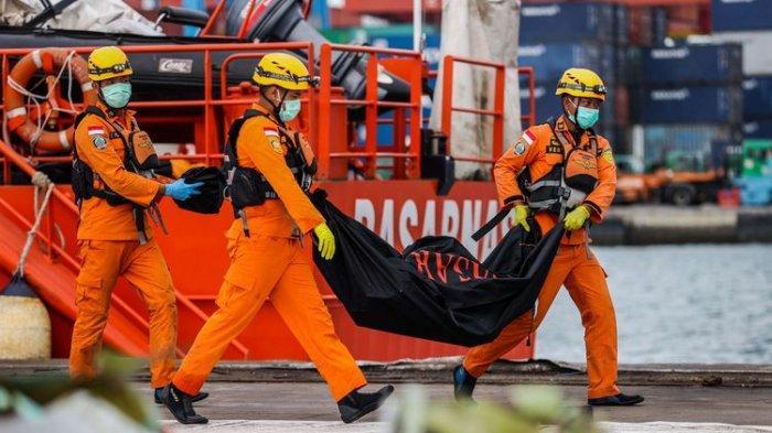 Hari ke-6 Sriwijaya Air Jatuh, Tim SAR Kumpulkan 239 Kantong Jenazah, 12 Korban Teridentifikasi
