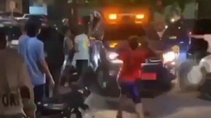 Petugas Bea Cukai Riau Diserang, Mobil Dilempari Batu dan Kayu, 8 Pelaku Ditangkap dan 6 Masih Buron