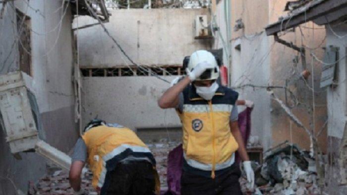 Rudal Hantam Rumah Sakit Pejuang Dukungan Turki, Puluhan Orang Tewas, Termasuk Staf Medis