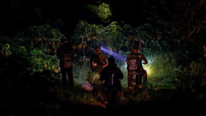 FOTO - Menghalau Kawanan Gajah Liar Yang Masuk ke Kebun Warga Pada Malam Hari - petugas-dari-eru-elephant-response-unit-4.jpg