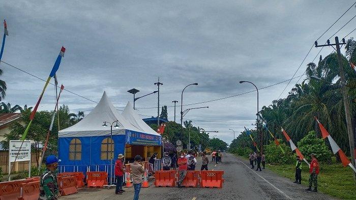 Pintu Masuk Aceh Resmi Ditutup, Puluhan Kendaraan Diarahkan Putar Balik