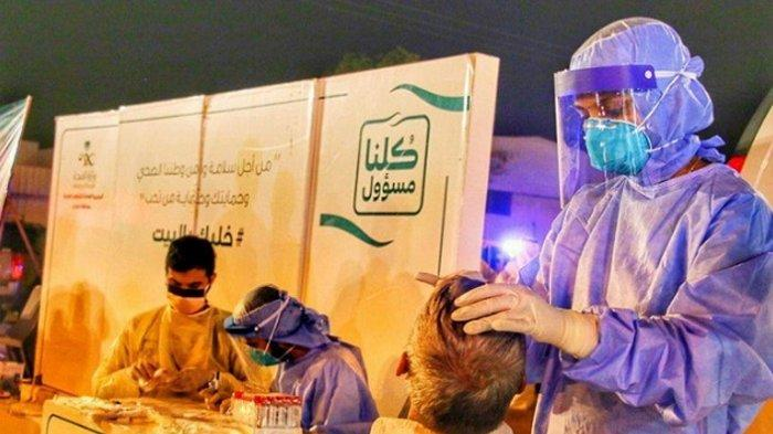 Arab Saudi Tingkatkan Tiga Kali Lipat Tes Covid-19 Harian, Korban Capai 54.752 Orang