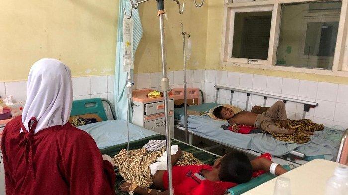 Dua Bocah Disambar Petir Sudah Empat Hari Dirawat di RSU Cut Meutia Aceh Utara