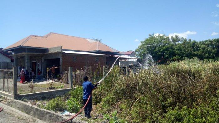 Lagi, Kebakaran Ilalang Terjadi di Banda Aceh, Pembakaran Sampah Jadi Pemicunya