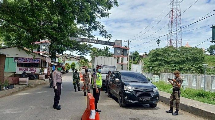 Pos Perbatasan di Aceh Tenggara Dijaga Ketat, 40 Unit Mobil Terpaksa Putar Balik ke Sumut