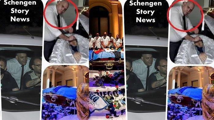 Petugas Pemakaman Acungkan Jempol saat Selfie dengan Jasad Maradona, Penggemar Naik Pitam