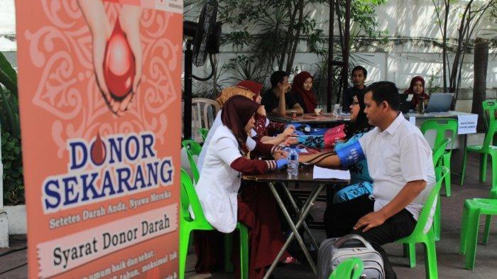 PMI Gelar Donor Darah di Halaman Masjid Selama Ramadan, Berikut Jadwal dan Lokasinya