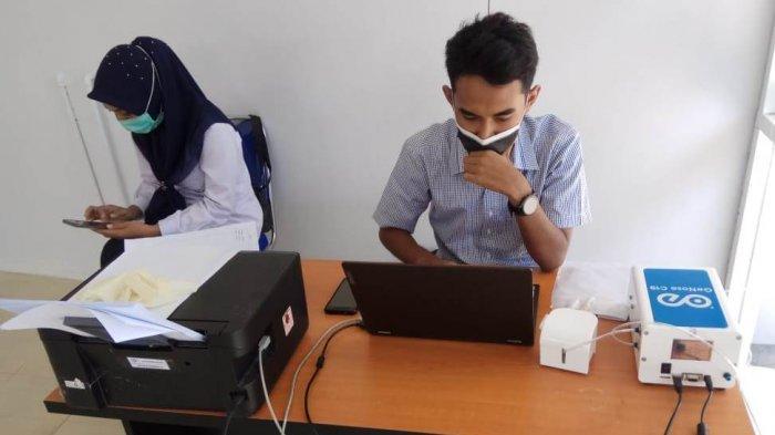 Minim Penumpang Gunakan Genose Covid-19 di Bandara Malikussaleh Aceh Utara