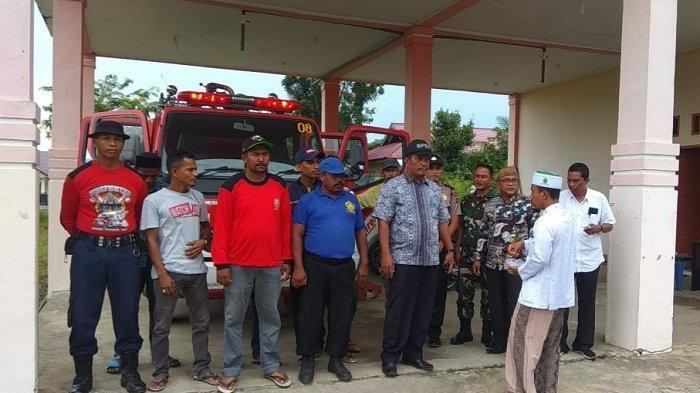 Dua Damkar dan 10 Petugas Disiagakan di Simpang Mamplam, Ini Tujuannya