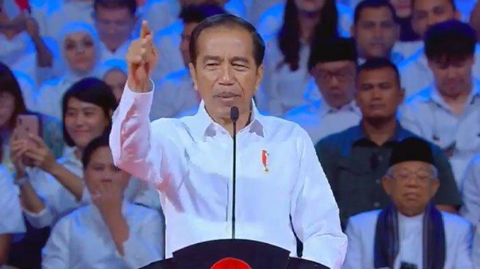 Pidato Pertama Visi Indonesia, Jokowi Ancam Basmi Pungli dan Penghambat Investasi