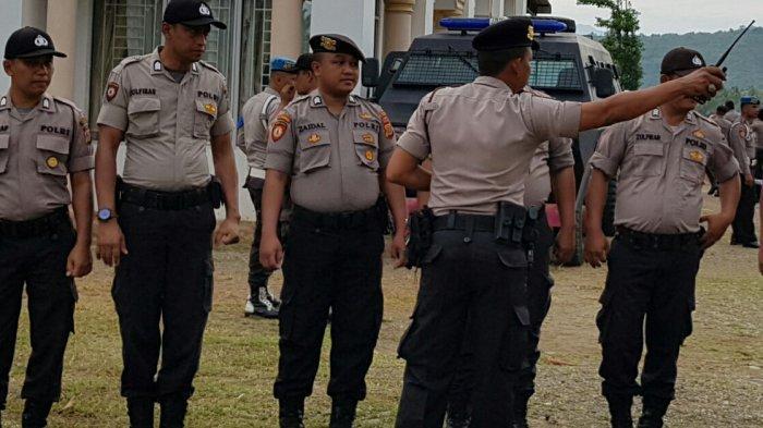 Amankan Pelantikan Anggota DPRK Pijay, Polres Pidie Kerahkan 108 Personel Gabungan