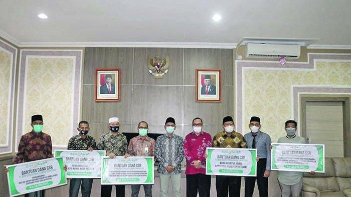 BAS Cabang Tapaktuan Salurkan CSR Rp 436.535.000