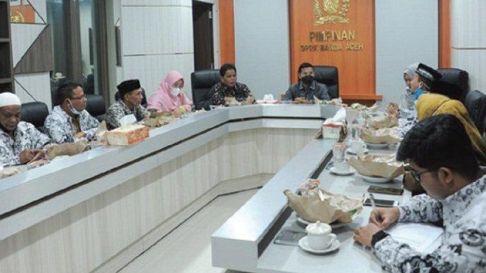 Silaturahmi ke DPRK, PGRI Banda Aceh Sampaikan Soal P3K dan Kompetensi Guru