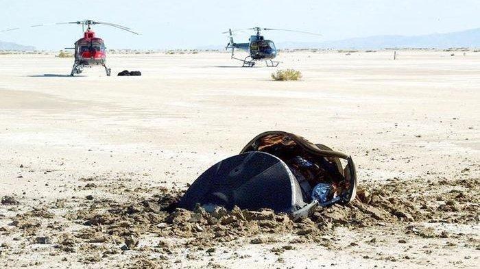 NASA Unggah Foto Objek Mirip Piring Terbang, Apakah Pesawat Milik Alien?
