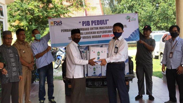 Peduli Lingkungan, PJB Salurkan Sembako untuk Warga Terdampak Covid-19