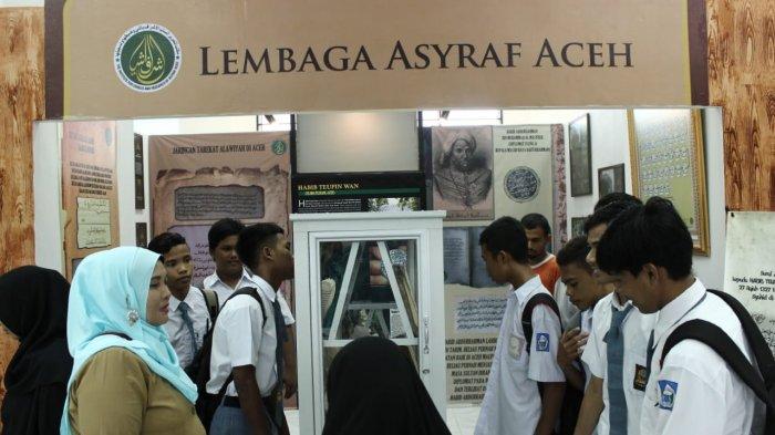 Asyraf Aceh Pamer Aneka Koleksi di Aceh History Expo