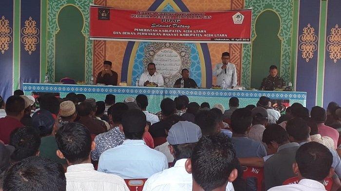 Mantan Pekerja Migas Temui Ketua Komisi D DPRK Aceh Utara, Ini yang Dibahas