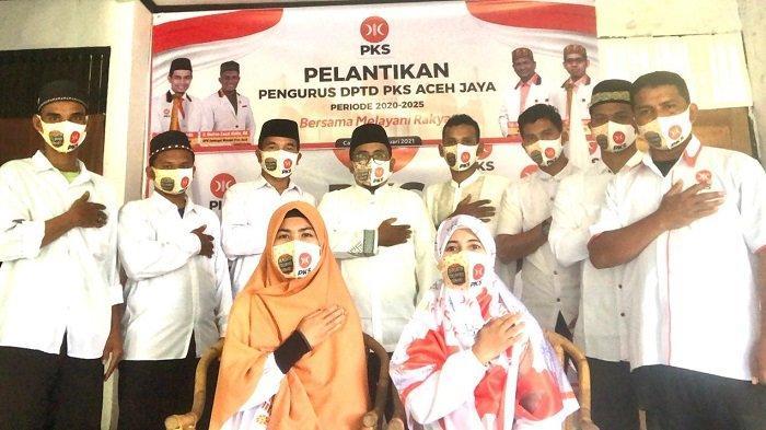 Pengurus PKS Aceh Jaya Dikukuhkan