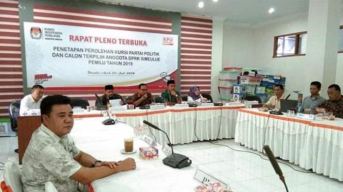 KIP Aceh Tetapkan 20 Calon Anggota DPRK Simeulue