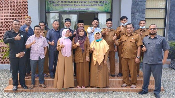 Kakankemenag Aceh Utara Kunjungi PLHUT Aceh Besar