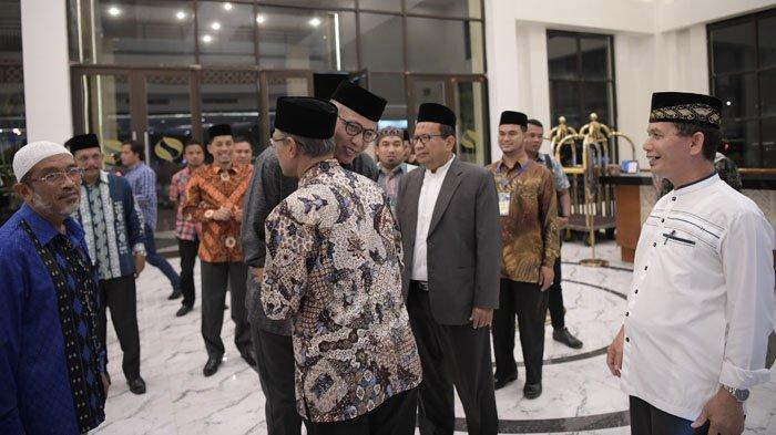 Buka Sidang Tarjih Fiqih Nasional 2019, Begini Penegasan Nova tentang Syariat Islam di Aceh