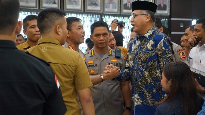 Nova Iriansyah Hadiri Penandatanganan Pernyataan Bersama Awasi Penyediaan dan Pendistribusian BBM