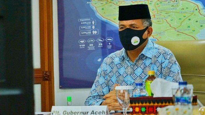 Plt Gubernur Minta Bupati dan Wali Kota Se Aceh Berpartisipasi pada Program Gebrak Masker
