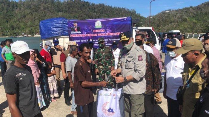 Ringankan Beban Masyarakat Aceh Akibat Pandemi Covid-19, Mubadala Petroleum Salurkan Sembako