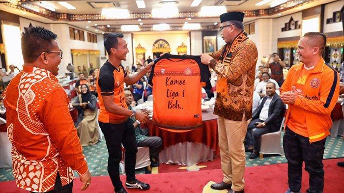 Persiraja ke Liga 1, Plt Gubernur Aceh Nova Iriansyah Apresiasi Tangan Dingin Nazaruddin Dek Gam