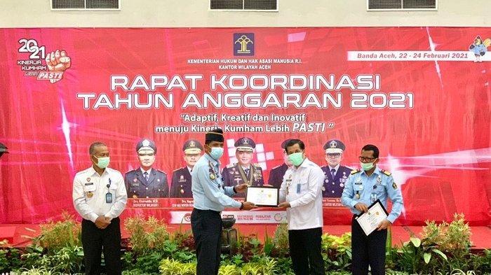 Rutan Klas IIB Takengon Terima Dua Penghargaan