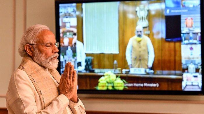 Perdana Menteri India Renovasi Parlemen dan Rumah Rp 25,6 Triliun, Warganya Sekarat Kena Covid-19