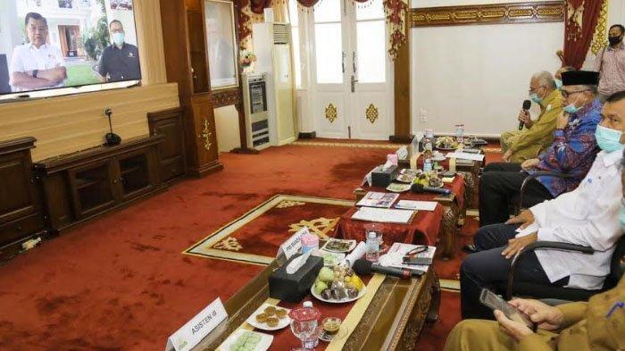 Ketum PMI Pusat Jusuf Kalla Apresiasi Gerakan Donor Darah ASN Pemerintah Aceh