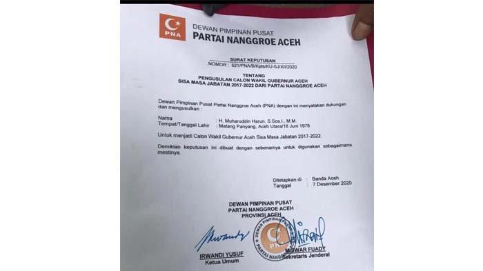 PNA Irwandi Usul Muharuddin