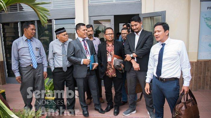 FOTO - FOTO : Sidang Perdana Gugatan Sengketa Partai Nanggroe Aceh (PNA) di PN Banda Aceh