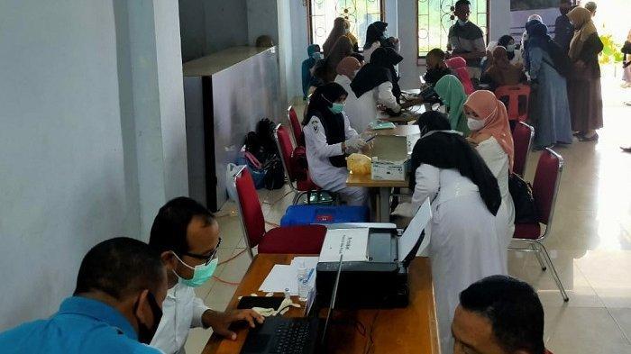Ratusan PNS Abdya Jalani Vaksinasi Tahap II