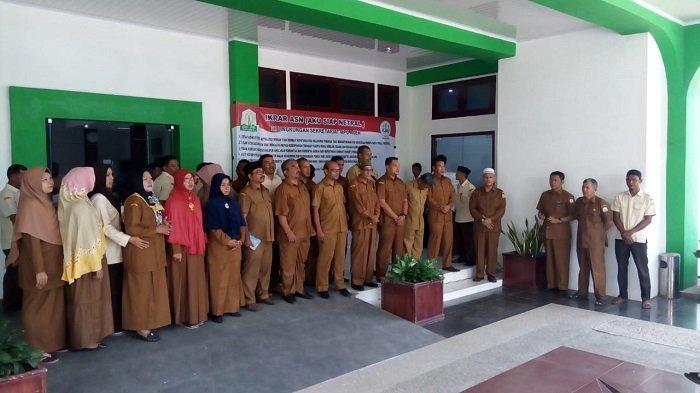Ikrar 'Aku Siap Netral', PNS di Lingkungan MPU Aceh Siap Jaga Netralitas dalam Pemilu