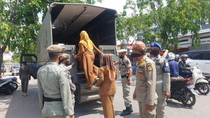 Satpol PP Aceh Tangkap 25 PNS dan 3 Orang Tenaga Kontrak, Nongkrong di Warkop Hari Pertama Kerja