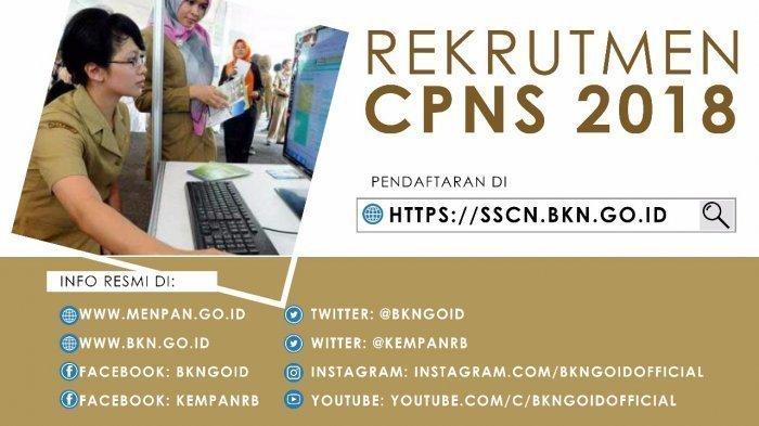 CPNS 2018 - 30 September Portal sscn.bkn.go.id di Upgrade, Pendaftaran Akan Terganggu di Jam Ini