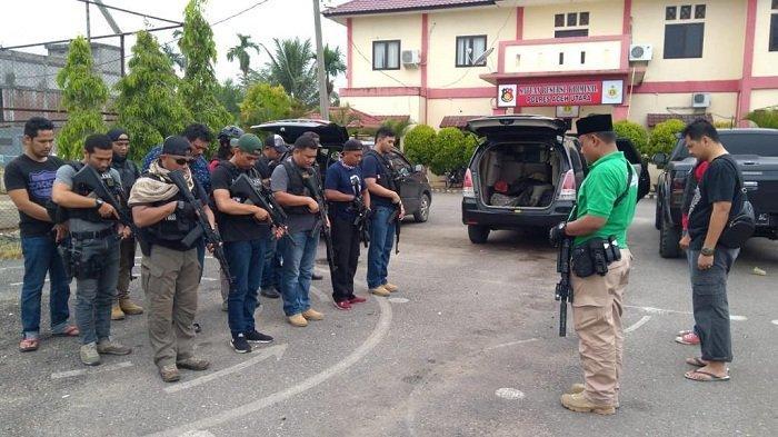 Polda Aceh Tindak Kegiatan Premanisme di 15 Lokasi, Sita Uang, Kendaraan hingga Senjata Tajam