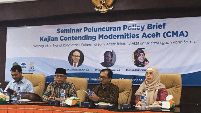 Tiga Peneliti Luncurkan Policy Brief untuk Panduan Masa Depan Aceh