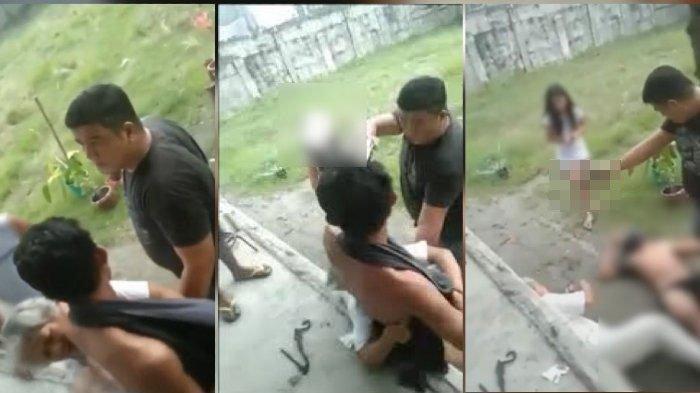 Ribut Masalah Hak Jalan Rumah, Oknum Polisi Tembak Mati Seorang Ibu dan Anaknya, Videonya Viral