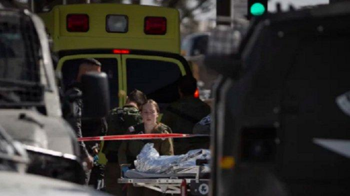 Polisi Israel Tidak Pandang Bulu, Seorang Wanita Bawa Pisau Ditembak Mati