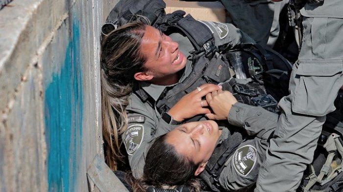 Polisi Israel Serang Reporter Sky News Arabia, Insiden Pemuda Palestina Tabrak Polisi