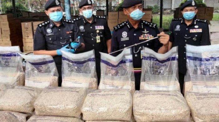 Malaysia Gagalkan Penyelundupan 8,7 Juta Pil Amfetamin dari Arab Saudi