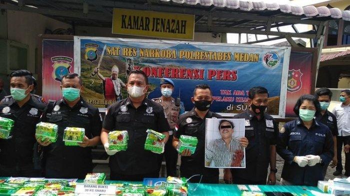 Polda Sumut Tembak Mati Kurir Sabu 30 Kg yang Punya 7 Identitas, Jaringan Malaysia-Aceh-Palembang