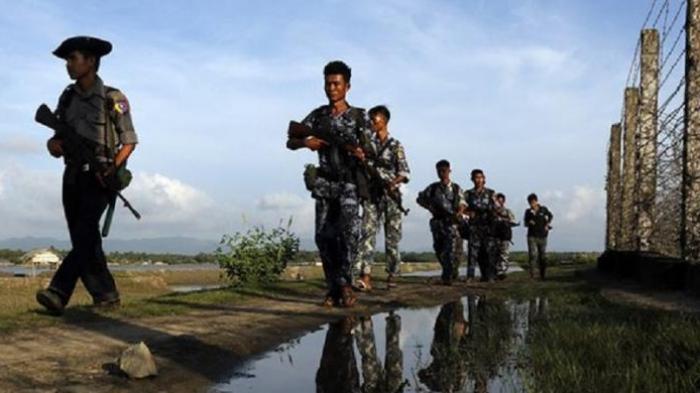 Tentara Myanmar Tembak Dua Desa Muslim di Kota Kyauktaw, Lima Orang Terluka